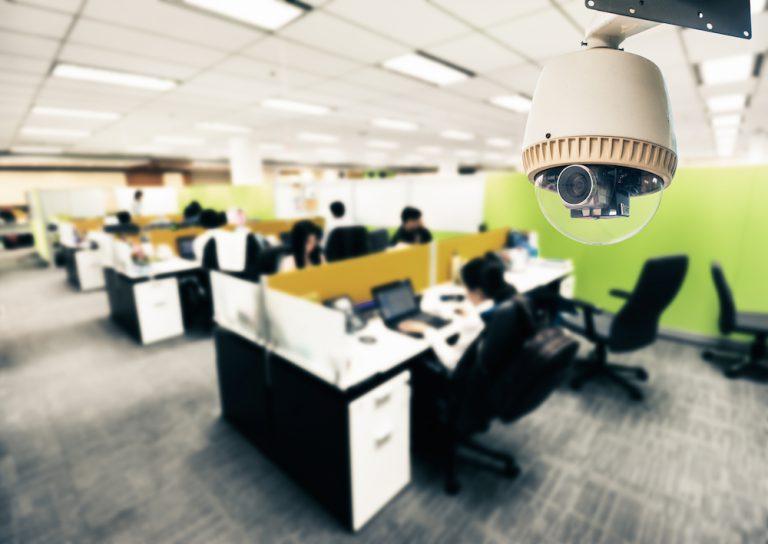 kamera v ofise